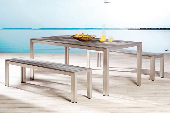 gartenm bel aluminium kunststoff im gartenm bel center. Black Bedroom Furniture Sets. Home Design Ideas